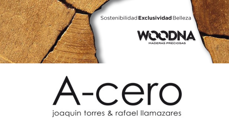 decorar con madera noble
