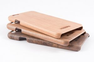 funda de madera sostenible iphone 6