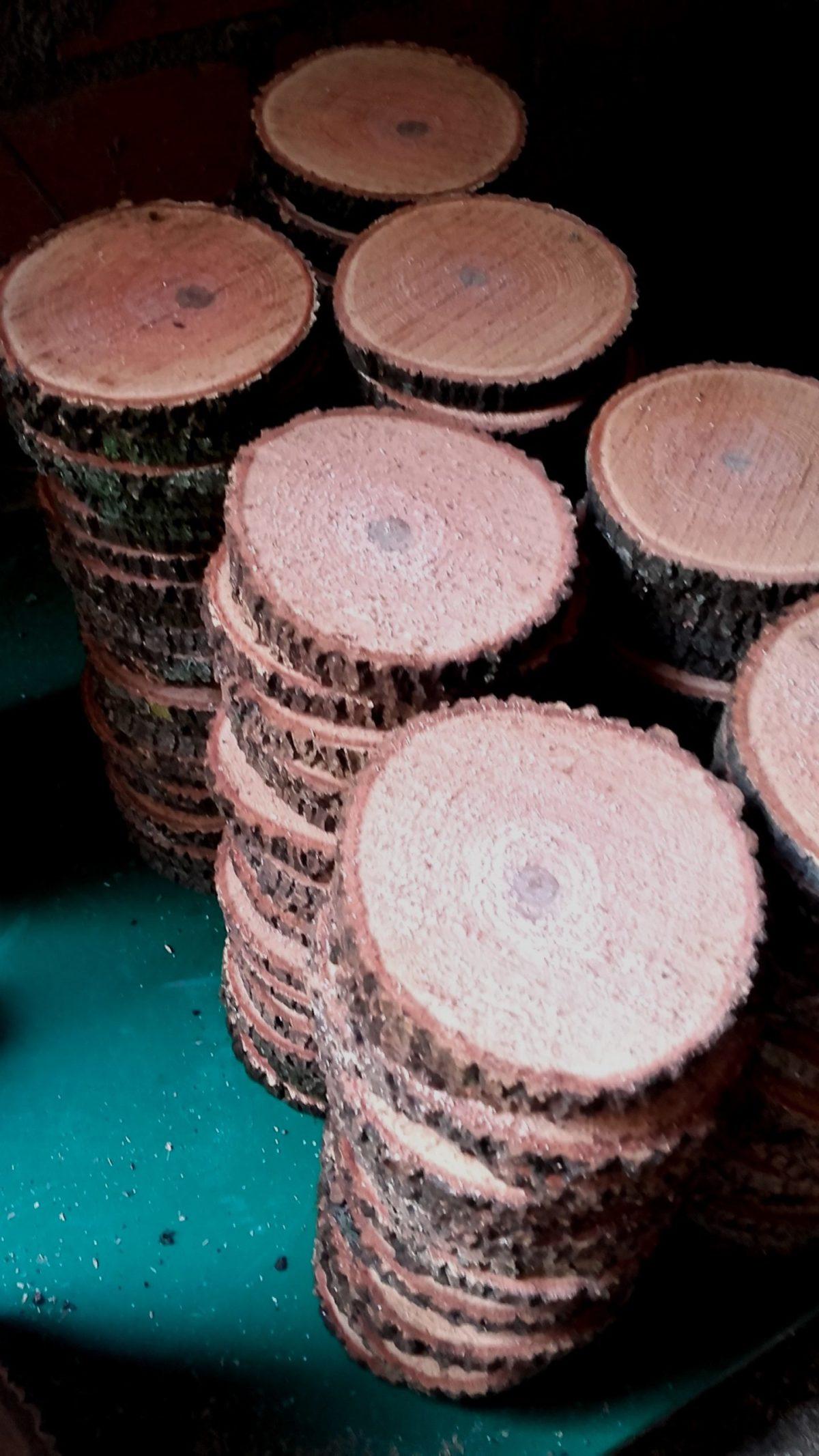 Rodajas de madera fresca Woodna: Maderas Naturales