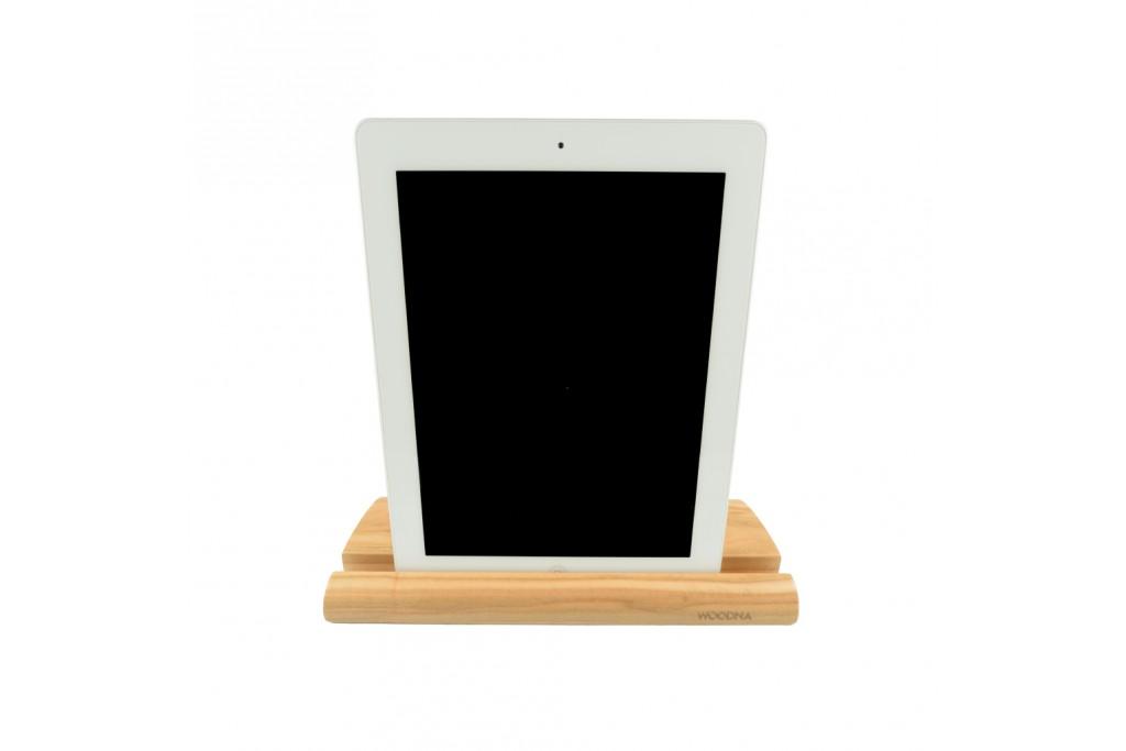 producto de madera sostenible para tecnología