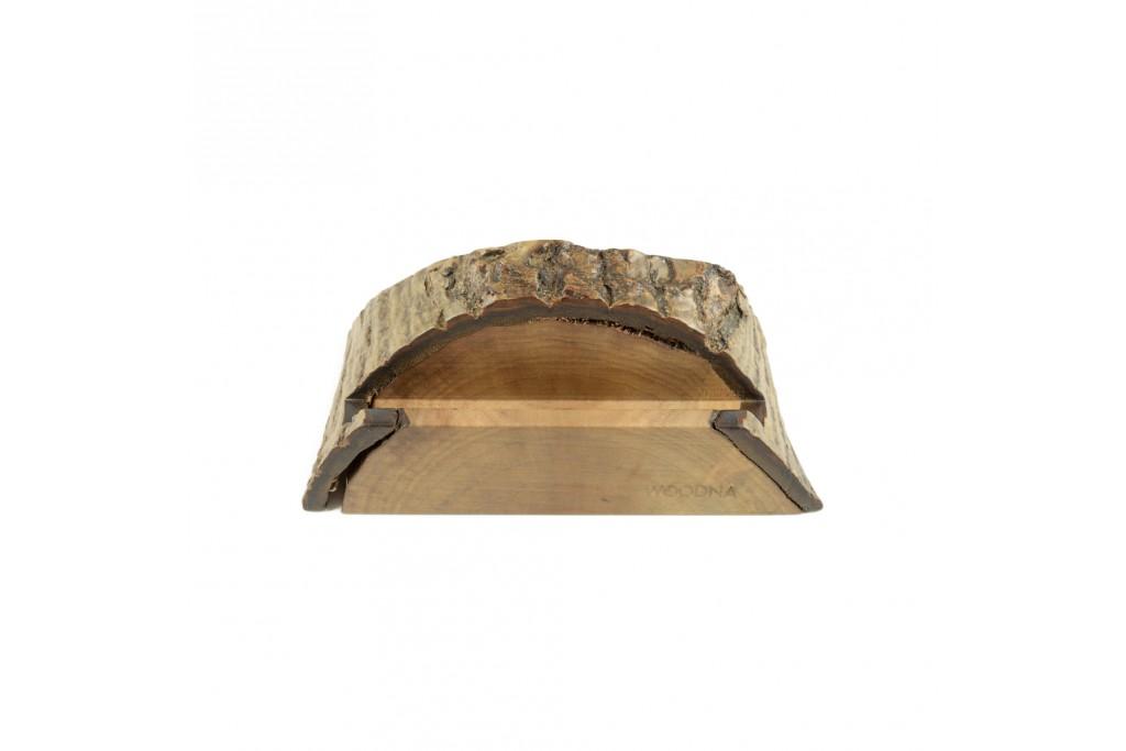 Soporte rústico madera de Nogal de plantaciones