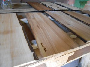 productos de madera sostenible