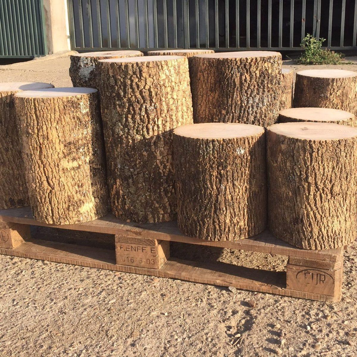 Comprar troncos de madera