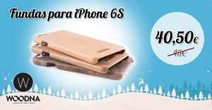 funda de madera iPhone6
