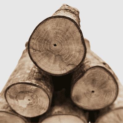 madera para leñera