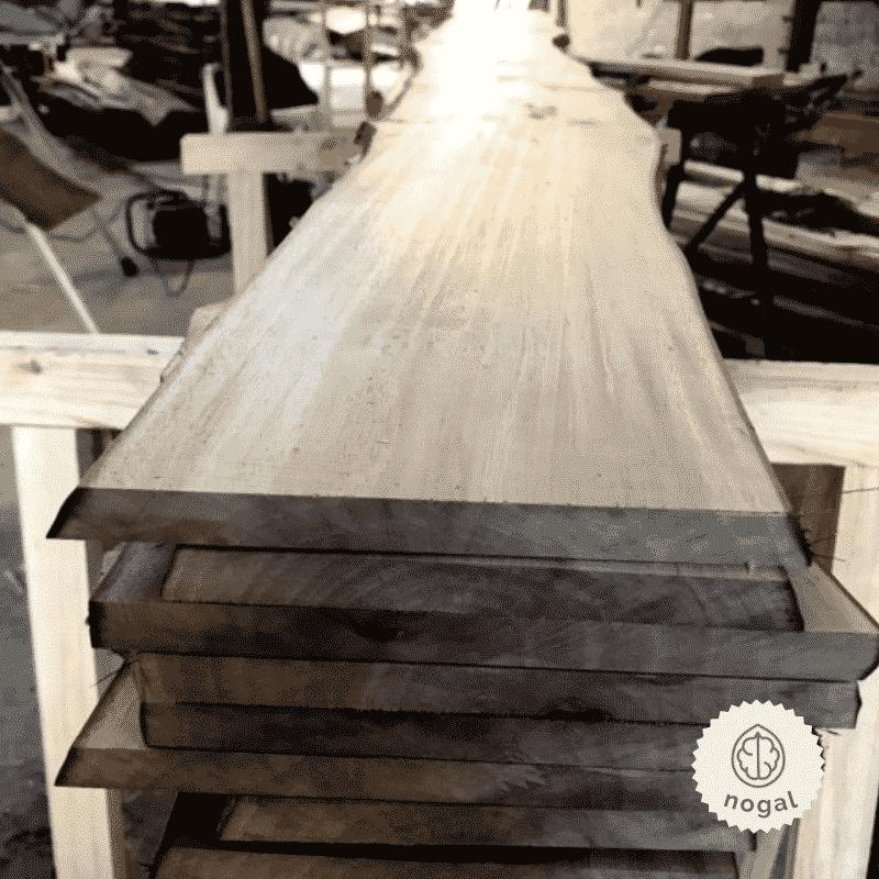Tablas madera con cantos naturales Woodna: Maderas Naturales