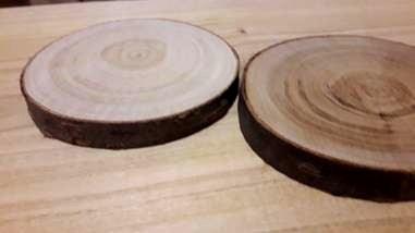 Rodajas de madera semiseca Woodna: Maderas Naturales