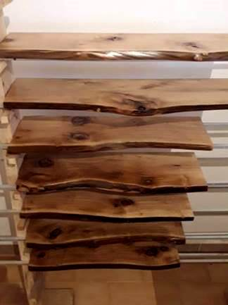 Tablas canto natural Woodna: Maderas Naturales