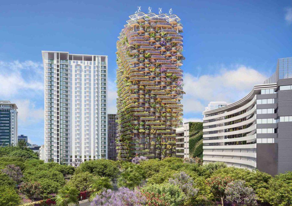 The Rainbow Tree, un proyecto futurista y ecológico - Woodna: Maderas Naturales