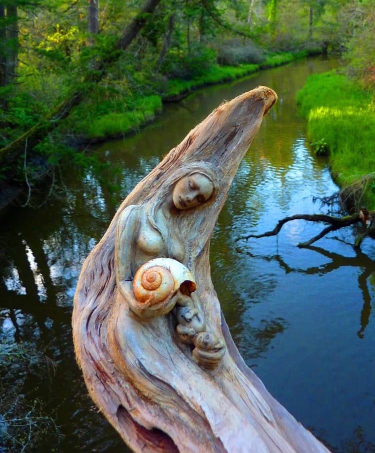 Arte en la naturaleza. Por David Funes - Woodna: Maderas Naturales