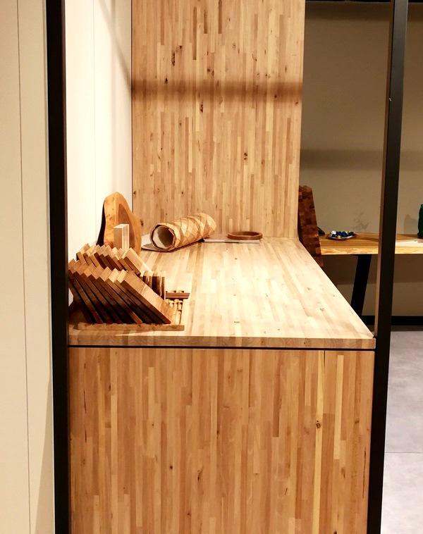 Encimera alistonada de nogal Woodna: Maderas Naturales
