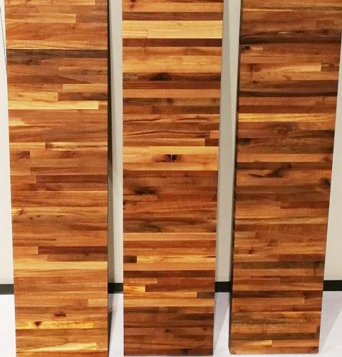 Encimeras alistonadas de nogal Woodna: Maderas Naturales