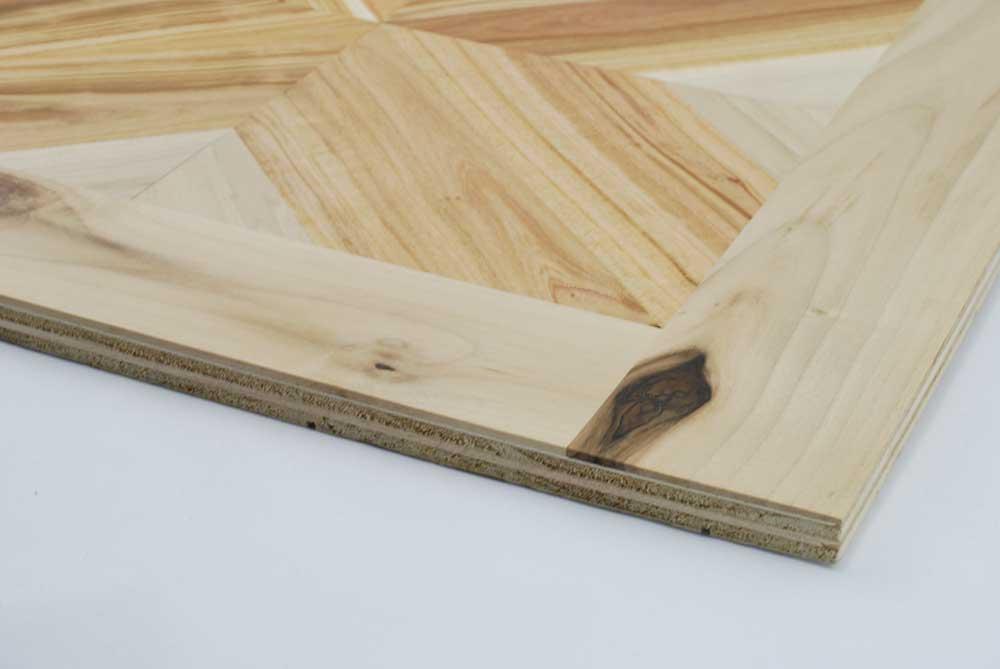 Loseta Geométrica Woodna: Maderas Naturales
