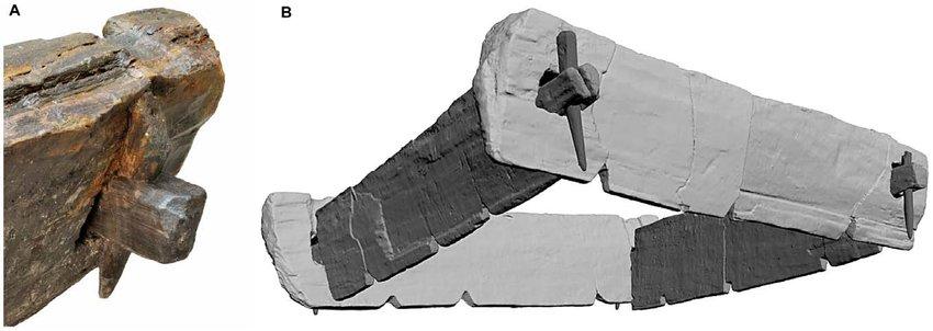 Una construcción de madera de más de 7.200 años