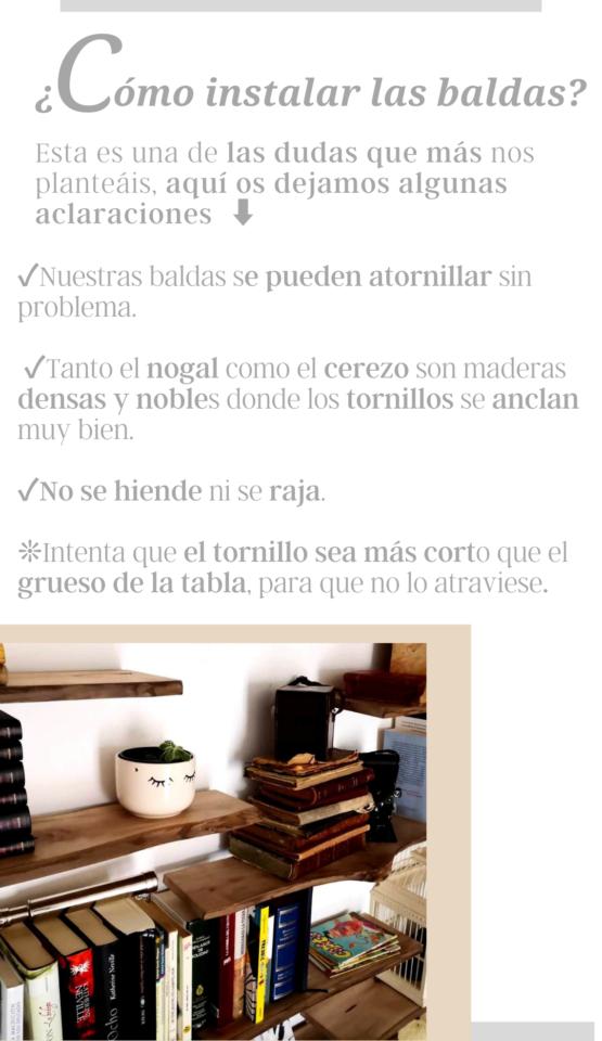 COMO INSTALAR BALDAS DE MADERA